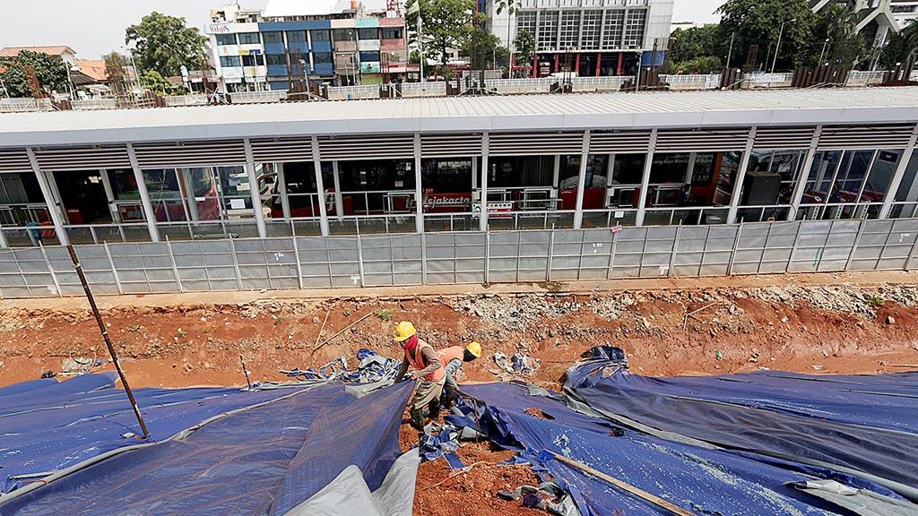 Photo of Proyek MRT Berjalan Normal