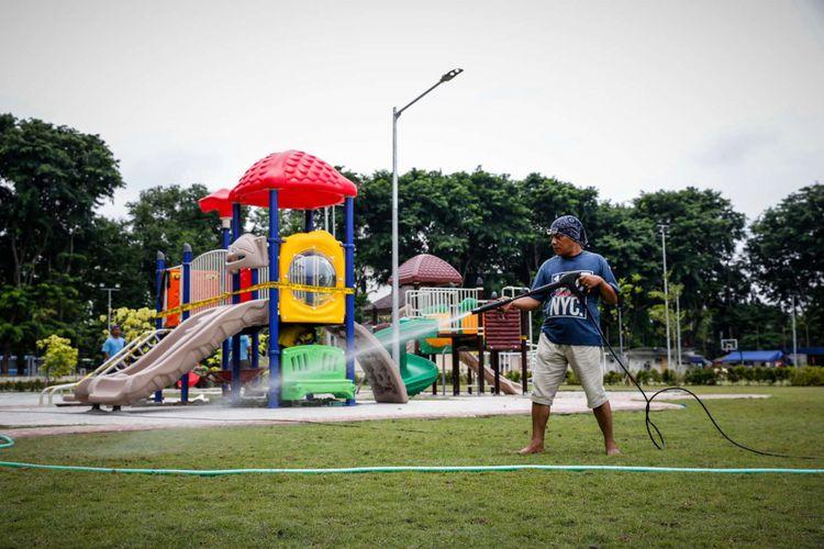 Photo of Peresmian Lapangan Banteng Tunggu Kesiapan Area Main Anak