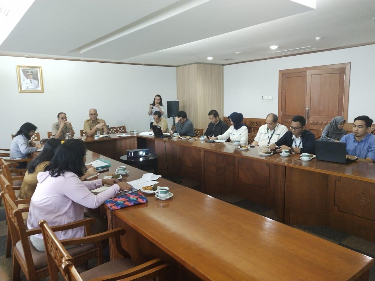 Photo of Rapat Pembahasan Kerangka Pengembangan Transit Oriented Development (TOD)