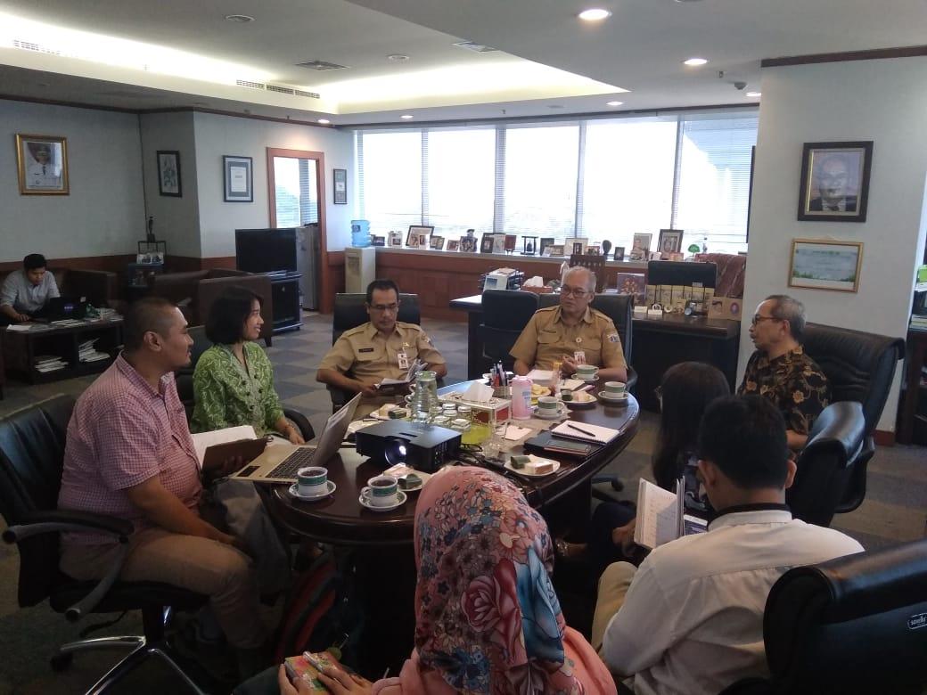 Photo of Pertemuan terkait Rencana Uji Coba Panduan Praktis Implementasi Agenda Baru Perkotaan/New Urban Agenda di Jakarta