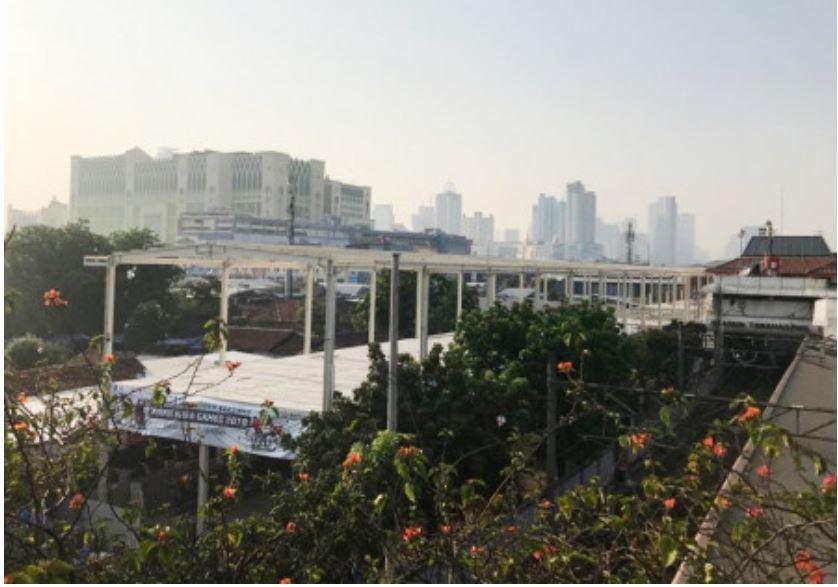 Photo of Pembangunan Skybridge Tanah Abang Sudah 70 Persen