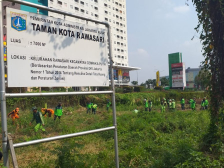 Photo of Lahan di Rawasari akan Diubah Jadi Taman Kota