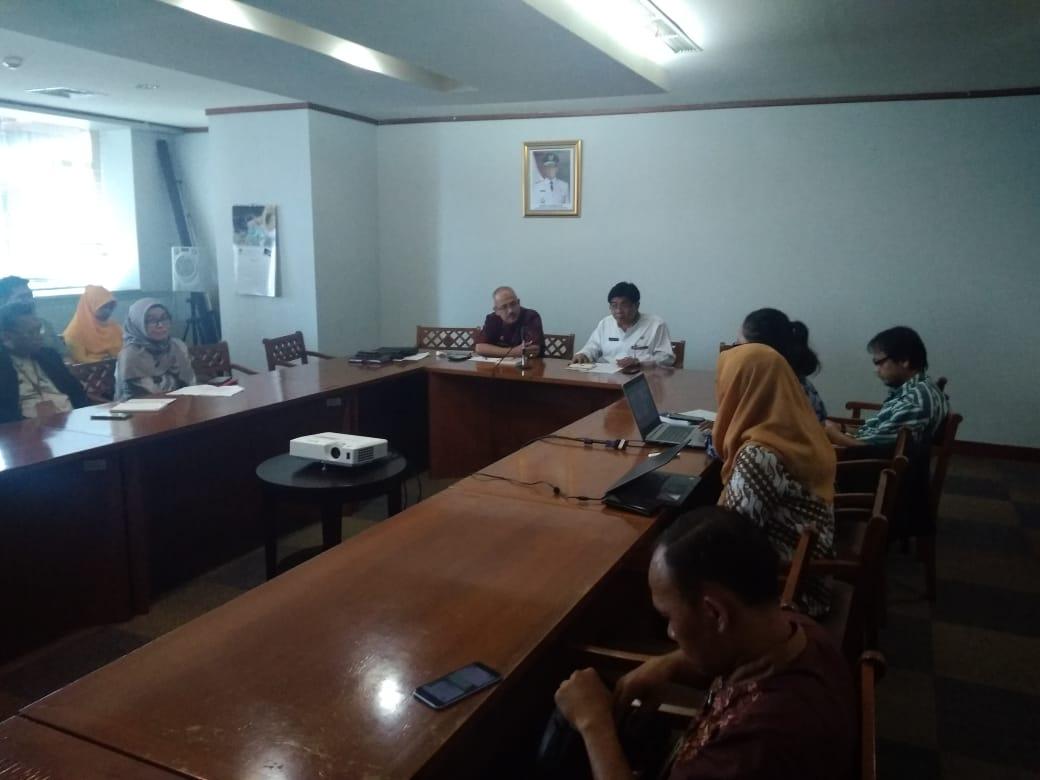 Photo of Rapat Persiapan Lokakarya Penyusunan Desain Besar Penanggulangan Bencana di DKI Jakarta