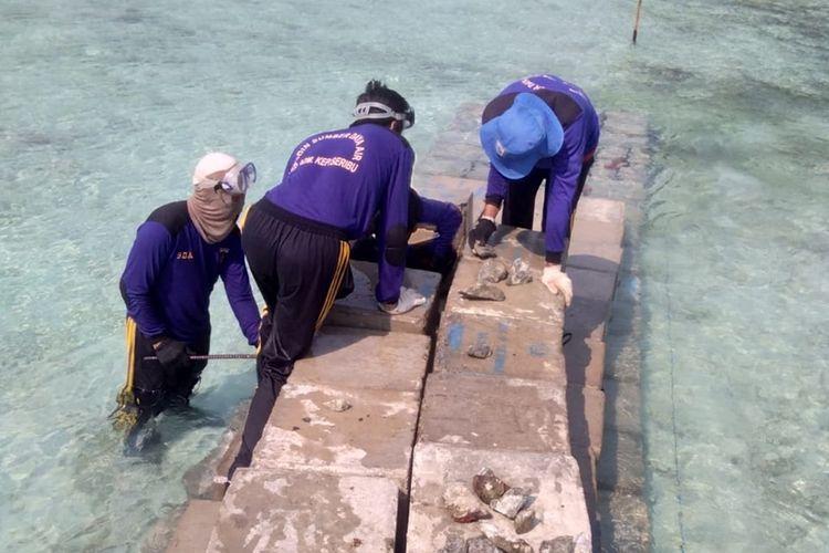 Photo of Sudin SDA Kepulauan Seribu Bangun Tanggul Cegah Abrasi